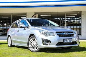 2013 Subaru Impreza G4 MY13 2.0i-S Lineartronic AWD Silver 6 Speed Constant Variable Hatchback Victoria Park Victoria Park Area Preview
