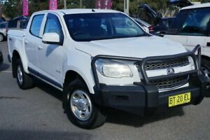2013 Holden Colorado RG MY14 LX Crew Cab White 6 Speed Sports Automatic Utility Phillip Woden Valley Preview