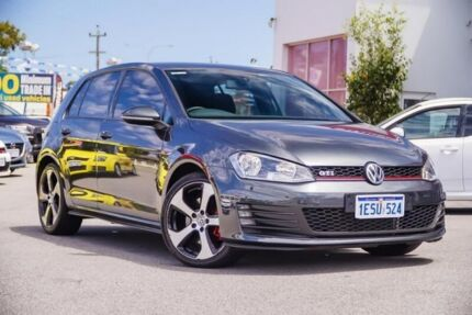 2014 Volkswagen Golf VII MY14 GTI DSG Grey 6 Speed Sports Automatic Dual Clutch Hatchback Myaree Melville Area Preview