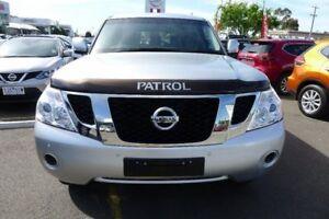 2014 Nissan Patrol Y62 ST-L Silver 7 Speed Sports Automatic Wagon