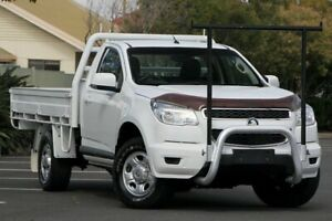 2013 Holden Colorado RG MY14 DX White 6 Speed Manual Cab Chassis Chermside Brisbane North East Preview