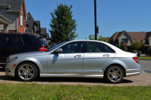 2008 Mercedes-Benz C350 AMG pack, panoramic roof