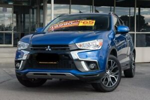 2017 Mitsubishi ASX XC MY18 LS 2WD Blue 6 Speed Constant Variable Wagon Dandenong Greater Dandenong Preview