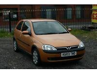 Vauxhall Corsa 1.7 Diesel (Cheap diesel with MOT)