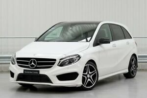 2016 Mercedes-Benz B-Class W246 B250 White Sports Automatic Dual Clutch Parramatta Parramatta Area Preview