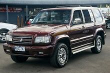 2002 Holden Jackaroo U8 MY02 Equipe SE Burgundy 4 Speed Automatic Wagon Ringwood East Maroondah Area Preview