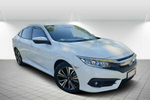 2018 Honda Civic MY18 VTi-L White Orchid Continuous Variable Sedan Golden Square Bendigo City Preview
