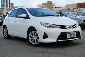2014 Toyota Corolla ZRE182R Ascent S-CVT White 7 Speed Constant Variable Hatchback Northbridge Perth City Area Preview