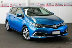 2015 Toyota Corolla ZRE182R Ascent Sport S-CVT Tidal Blue 7 Speed Constant Variable Hatchback