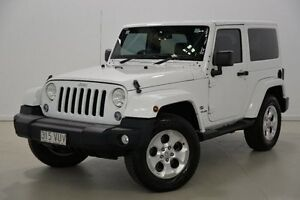2013 Jeep Wrangler JK MY2013 Overland White 5 Speed Automatic Hardtop Mansfield Brisbane South East Preview
