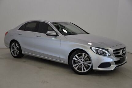 2016 Mercedes-Benz C200 W205 806+056MY 7G-Tronic + Silver 7 Speed Sports Automatic Sedan Mansfield Brisbane South East Preview