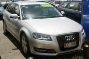 2013 Audi A3 8V Attraction Sportback S tronic Ice Silver 7 Speed Sports Automatic Dual Clutch Main Beach Gold Coast City Preview
