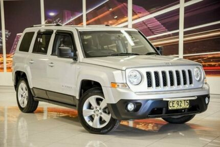 2012 Jeep Patriot MK MY2012 Limited CVT Auto Stick Silver 6 Speed Constant Variable Wagon