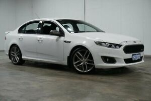 2015 Ford Falcon FG X XR6 Turbo White 6 Speed Manual Sedan Welshpool Canning Area Preview