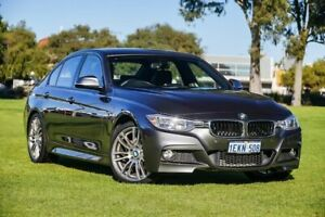 2013 BMW 320i F30 MY0813 Mineral Grey 8 Speed Sports Automatic Sedan Burswood Victoria Park Area Preview
