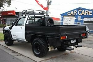 2006 Nissan Patrol GU II DX White 5 Speed Manual Cab Chassis Altona North Hobsons Bay Area Preview