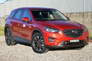 2016 Mazda CX-5 KE1032 Grand Touring SKYACTIV-Drive AWD Red 6 Speed Sports Automatic Wagon Wyong Wyong Area Preview