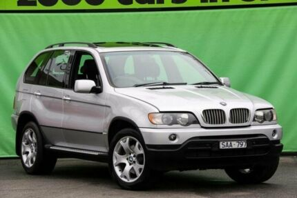 2003 BMW X5 E53 4.4I Silver 5 Speed Auto Steptronic Wagon Ringwood East Maroondah Area Preview