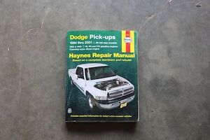 Haynes Dodge Repair Manuel