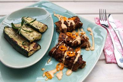 Seitan-Steaks liefern jede Menge Proteine und sind in dieser Variante besonders lecker. (© Veganblatt.com)