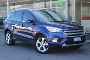 2017 Ford Escape ZG Trend 2WD Blue 6 Speed Sports Automatic Wagon Osborne Park Stirling Area Preview