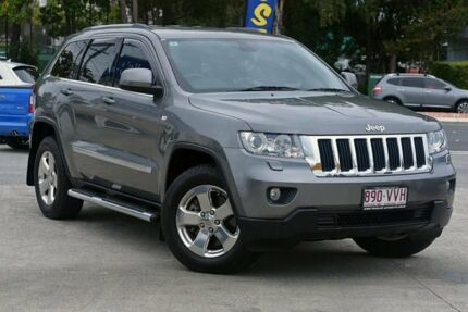 2013 Jeep Grand Cherokee WK MY2013 Laredo Grey 5 Speed Sports Automatic Wagon Southport Gold Coast City Preview
