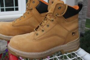 Timberland Pro protective safety boots men's size US 9 W EUR 43