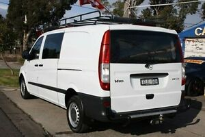 2007 Mercedes-Benz Vito 639 MY07 109CDI Low Roof Extra Long White 6 Speed Manual Van Altona North Hobsons Bay Area Preview