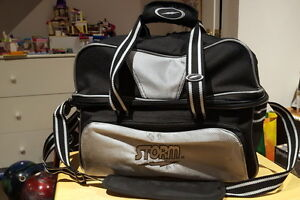 STORM 2 Ball Deluxe Bowling Tote Bag - LIKE NEW - Only $30!