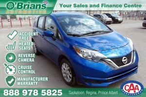 2017 Nissan Versa Note SV - Accident Free! w/Mfg Warranty