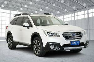 2015 Subaru Outback B6A MY15 3.6R CVT AWD White 6 Speed Constant Variable Wagon Victoria Park Victoria Park Area Preview