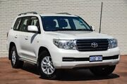2010 Toyota Landcruiser VDJ200R MY10 GXL White 6 Speed Sports Automatic Wagon Bayswater Bayswater Area Preview