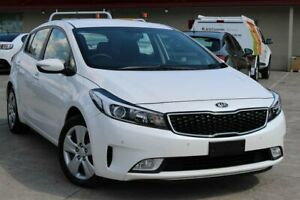 2018 Kia Cerato YD MY18 S White 6 Speed Sports Automatic Hatchback Cheltenham Kingston Area Preview