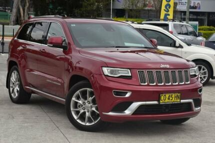 2015 Jeep Grand Cherokee WK MY15 Summit Deep Cherry Red 8 Speed Sports Automatic Wagon Southport Gold Coast City Preview