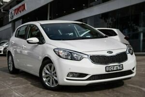2016 Kia Cerato YD MY16 S Premium White 6 Speed Sports Automatic Hatchback Castle Hill The Hills District Preview