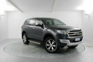 2017 Ford Everest UA Titanium 4WD Grey 6 Speed Sports Automatic Wagon Launceston Launceston Area Preview