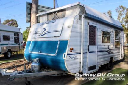 CU1074 Goldstream Sapphire Pop Top Easy To Tow