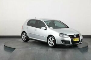 2008 Volkswagen Golf 1K MY08 Upgrade GTi Silver 6 Speed Direct Shift Hatchback