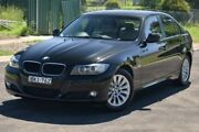 2009 BMW 320i E90 MY09 Executive Black 6 Speed Auto Steptronic Sedan Granville Parramatta Area Preview