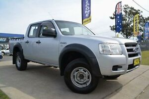 2009 Ford Ranger PJ 07 Upgrade XL (4x2) Silver 5 Speed Automatic Dual Cab Pick-up Mulgrave Hawkesbury Area Preview