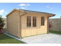 Canterbury Log Cabin | Brand NEW!