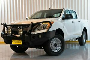 2014 Mazda BT-50 UP0YF1 XT White 6 Speed Sports Automatic Utility Hendra Brisbane North East Preview