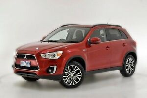 2016 Mitsubishi ASX XB MY15.5 LS 2WD Red 6 Speed Constant Variable Wagon Narre Warren Casey Area Preview