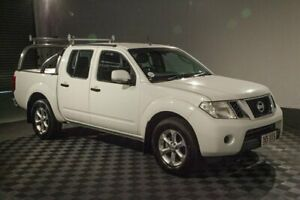 2012 Nissan Navara D40 S6 MY12 ST 4x2 White 5 Speed Sports Automatic Utility Acacia Ridge Brisbane South West Preview