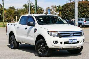 2014 Ford Ranger PX XL Hi-Rider White 6 Speed Sports Automatic Utility Maddington Gosnells Area Preview
