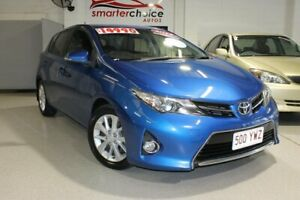 2013 Toyota Corolla Blue 7 Speed Automatic Hatchback