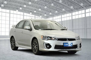 2017 Mitsubishi Lancer CF MY17 ES Sport Sterling Silver 6 Speed Constant Variable Sedan Victoria Park Victoria Park Area Preview