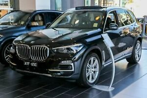 2018 BMW X5 G05 xDrive30d Steptronic Black 8 Speed Sports Automatic Wagon South Melbourne Port Phillip Preview