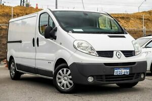 2014 Renault Trafic X83 Phase 3 Low Roof Quickshift White 6 Speed Seq Manual Auto-Clutch Van Osborne Park Stirling Area Preview