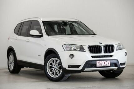 2011 BMW X3 F25 xDrive20d Steptronic White 8 Speed Automatic Wagon Mansfield Brisbane South East Preview